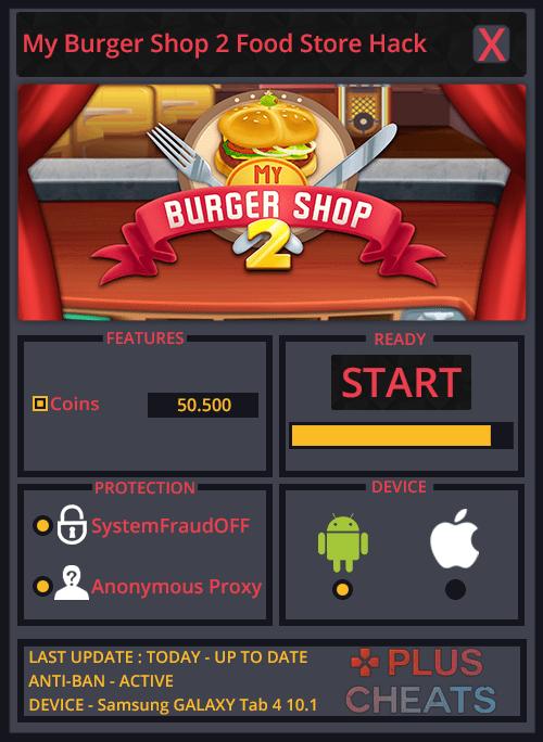 My Burger Shop 2 Food Store hack