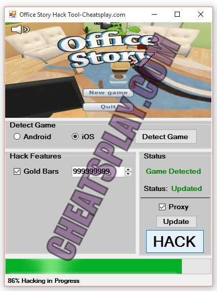 Office Story Hack Tool