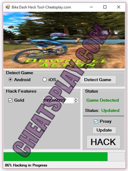 Bike Dash Hack Tool