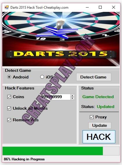 Darts 2015 Hack Tool