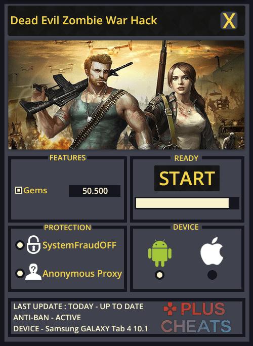 Dead Evil Zombie War hack
