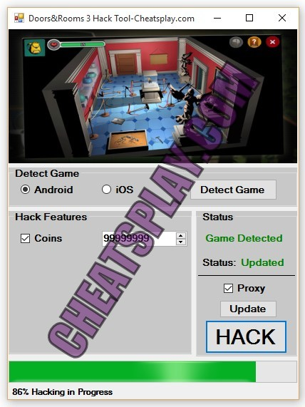 Doors and Rooms 3 Hack Tool