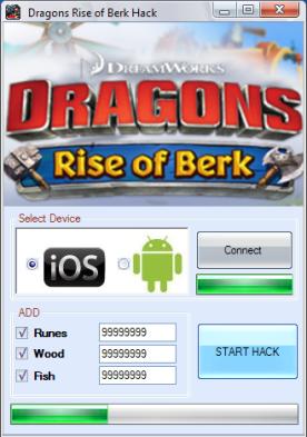 Dragons: Rise of Berk Hack