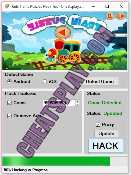 Kids Trains Puzzles Hack Tool