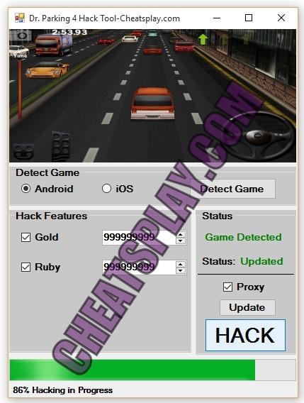 Dr. Parking 4 Hack Tool