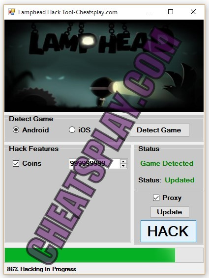 Lamphead Hack Tool