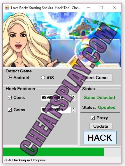 Love Rocks Starring Shakira Hack Tool