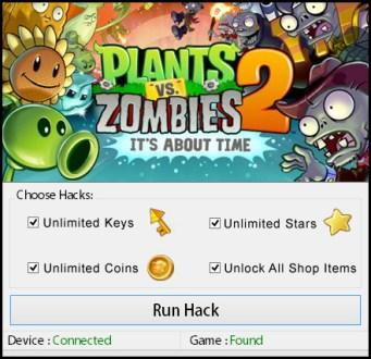 Plants VS Zombies 2 Hack