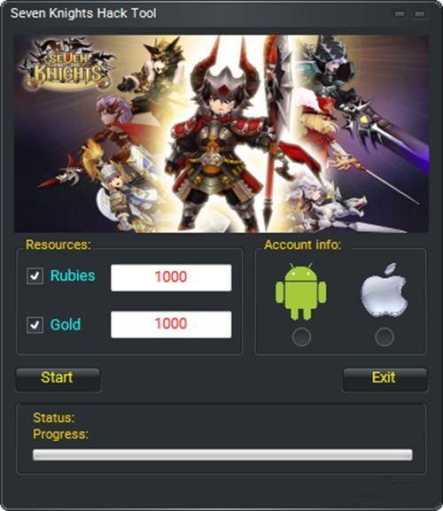 Seven Knights Hack Tool