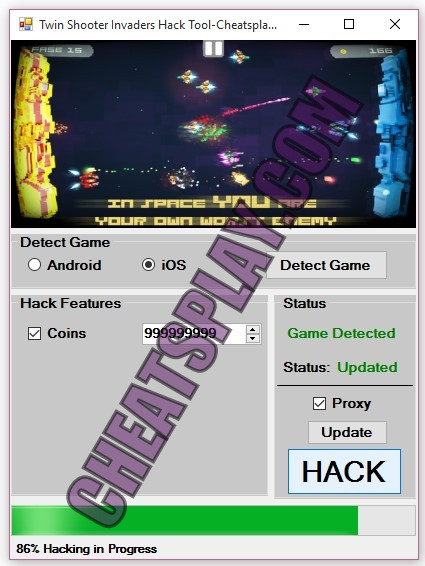 Twin Shooter Invaders Hack Tool