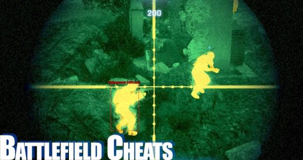 battlefield cheats
