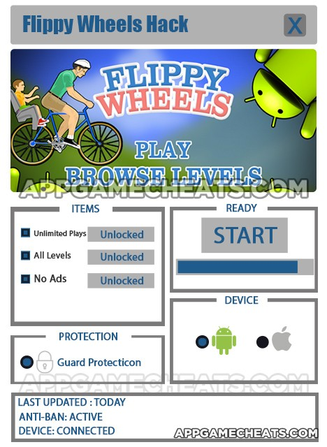 flippy-wheels-cheats-hack-unlimited-plays-all-levels-no-ads