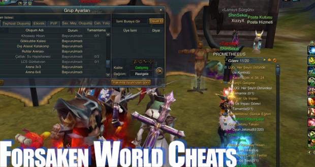 forsaken-world-cheating-methods