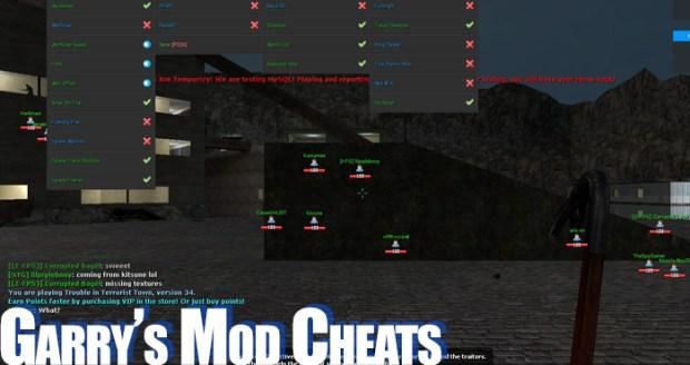 garrys mod cheats