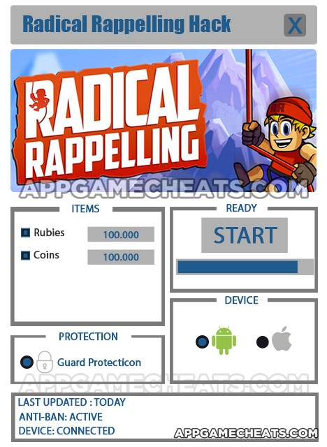 radical-rappelling-cheats-hack-rubies-coins