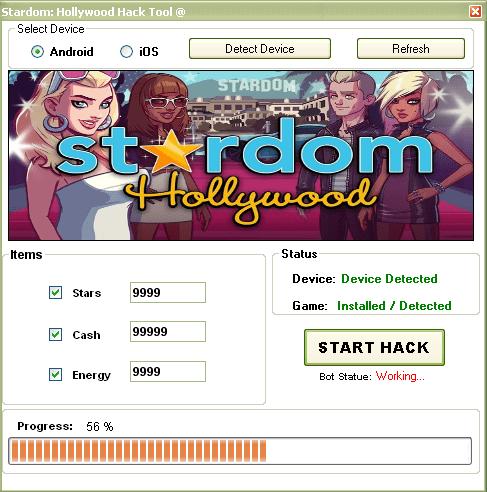 Stardom Hollywood hack tool for v3.5