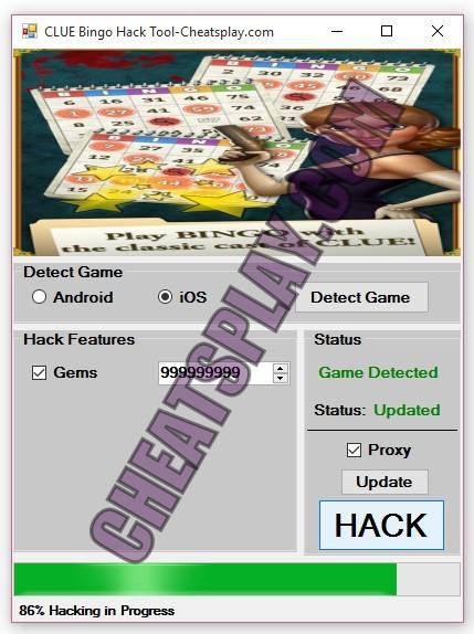CLUE Bingo Hack Tool