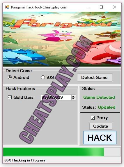Parigami Hack Tool