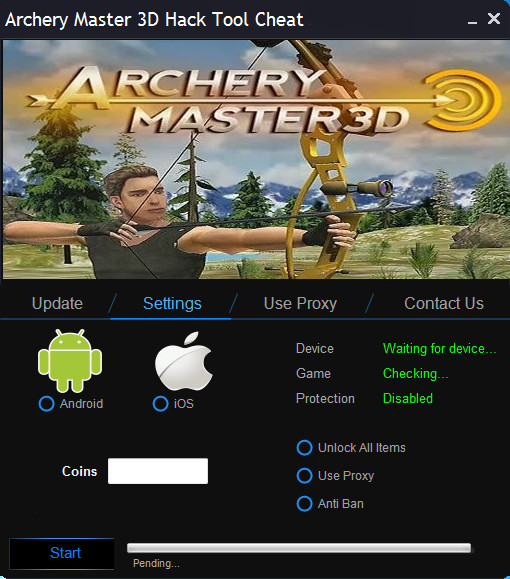 Archery Master 3D Hack Tool