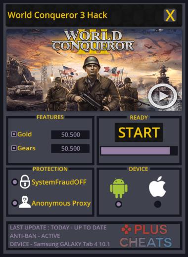 Conquerors Hack Cheat
