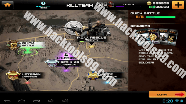 Rivals at War Firefight Hack Working Proof