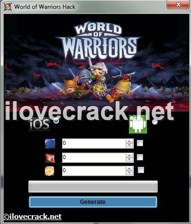 World of Warriors hack