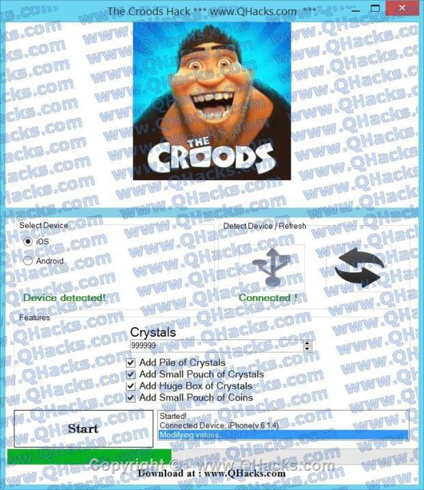 The Croods hacks