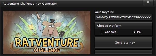 ratventure challenge key generator free activation code 2015 Ratventure Challenge Key Generator – FREE Activation Code 2015