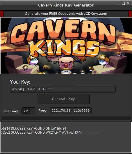 Cavern Kings cd-key