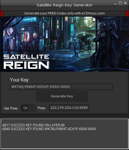 Satellite Reign cd-key
