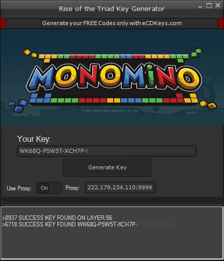 Monomino cd-key