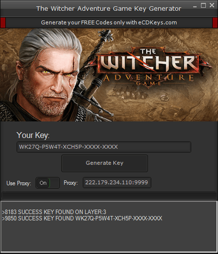 The Witcher Adventure Game cd-key