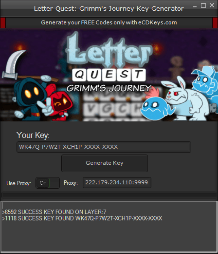 Letter Quest: Grimm's Journey cd-key