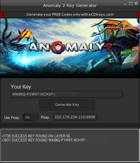 Anomaly 2 cd key