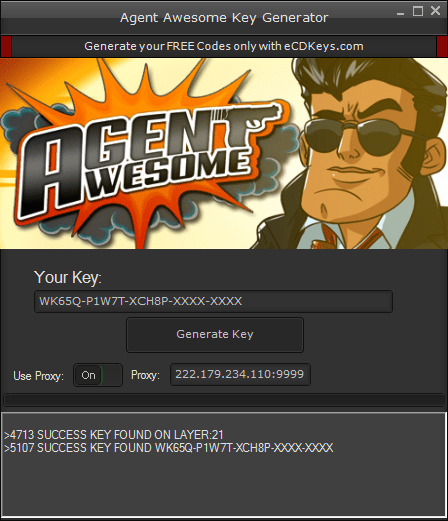 Agent Awesome cd-key