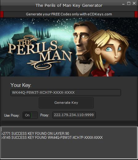 The Perils of Man cd-key