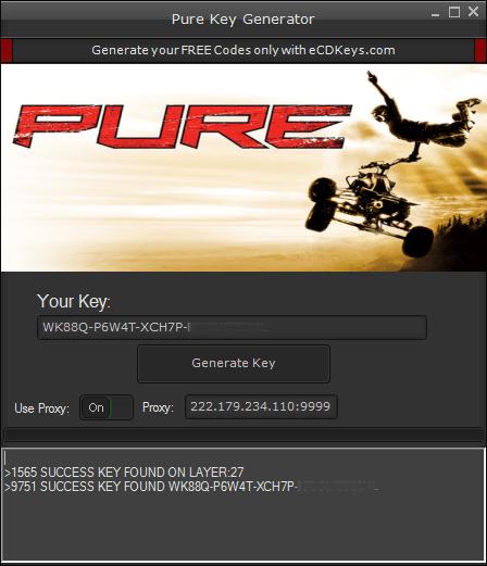 Pure cd-key