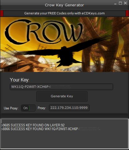 Crow cd-key