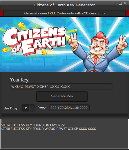 Citizens of Earth cd-key