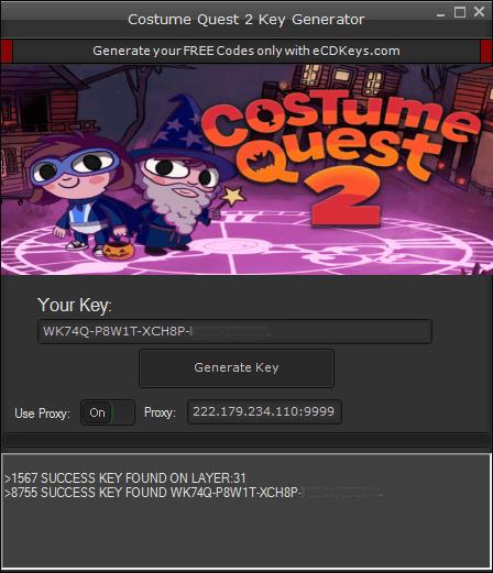 Costume Quest 2 cd-key