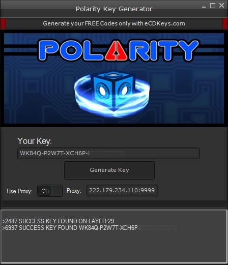Polarity cd-key