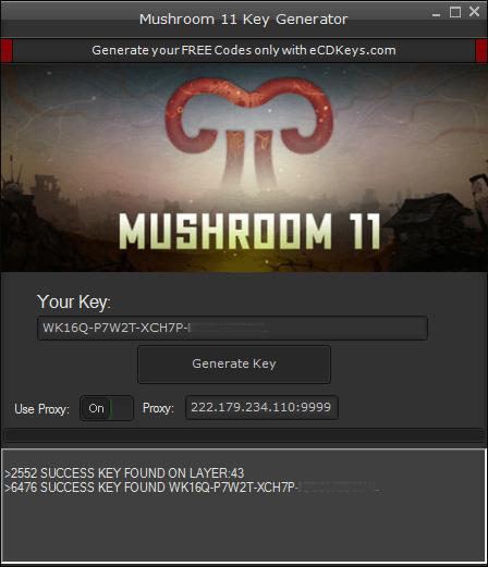 Mushroom 11 cd-key