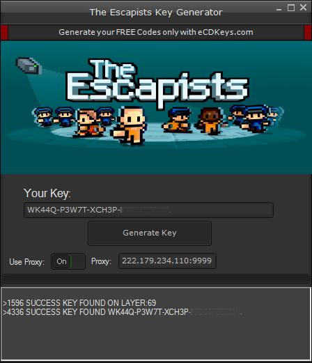 The Escapists cd key