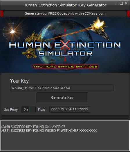 Human Extinction Simulator cd-key