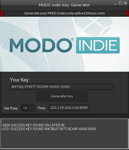 MODO indie cd-key