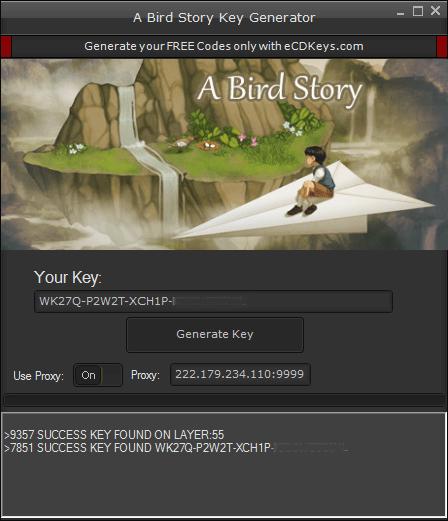 A Bird Story cd-key