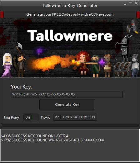 Tallowmere cd-key