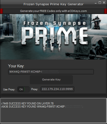 Frozen Synapse Prime cd-key