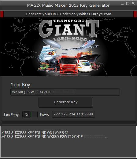 Transport Giant cd key