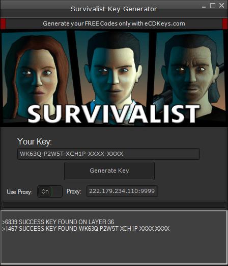 Survivalist cd-key